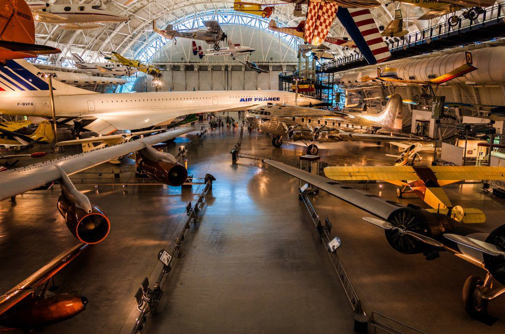Smithsonian Air and Space Museum Udvar-Hazy Center, in Chantilly, Virginia