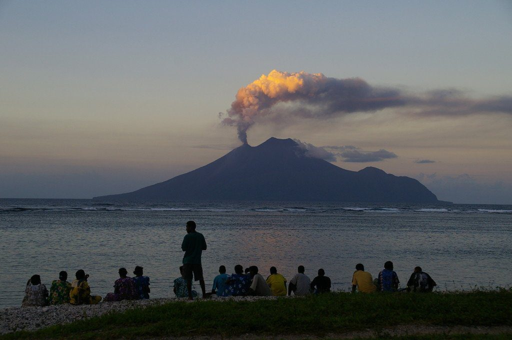 Natural Wonders:  Volcano Tourism in the South Pacific