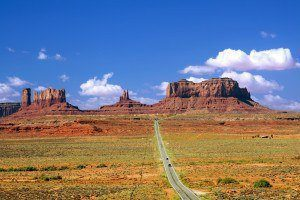 Monument Valley, a place we intended to visit on our big USA and Canada road trip