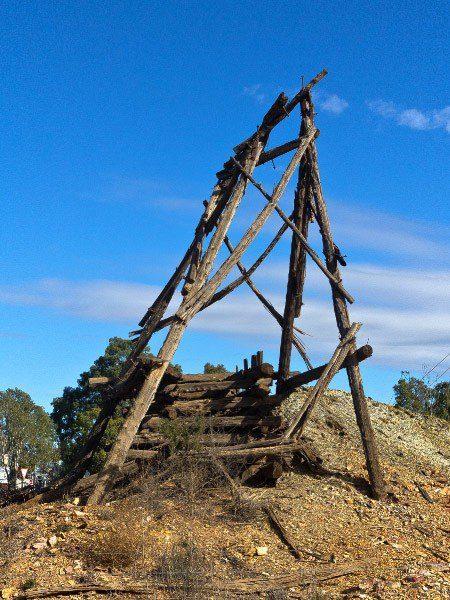 Cobar, Old Gold Mine Shaft, Outback Australia Road Trip
