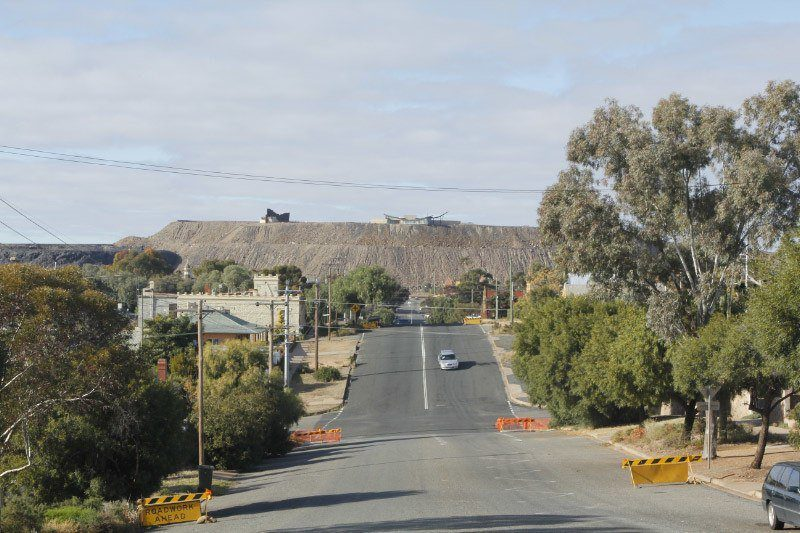 Line of Lode, Broken Hill, Outback Outback