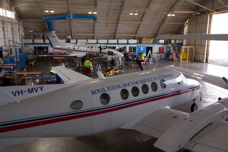 Royal Flying Doctor Service, Broken Hill, Outback Australia Road Trip