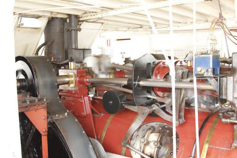 Paddle Steamer Melbourne Engine, Mildura, Outback Australia Road Trip