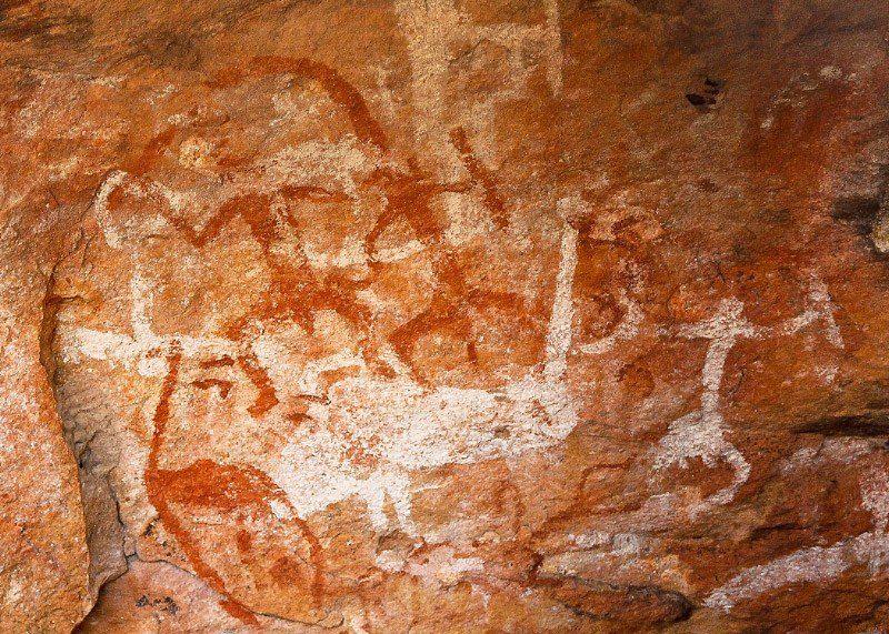 Mt Grenfell, Aboriginal Art, Outback Australia