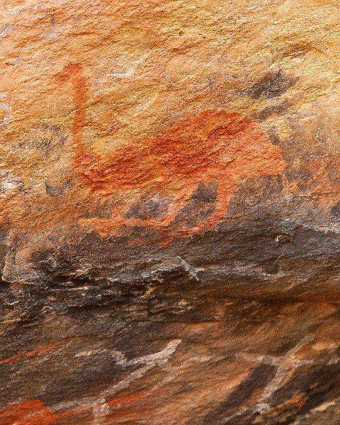 Mt Grenfell, Aboriginal Art, Outback Australia Road Trip