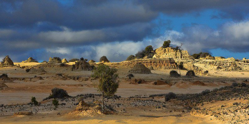 Mungo National Park, Walls of China, Outback Australia