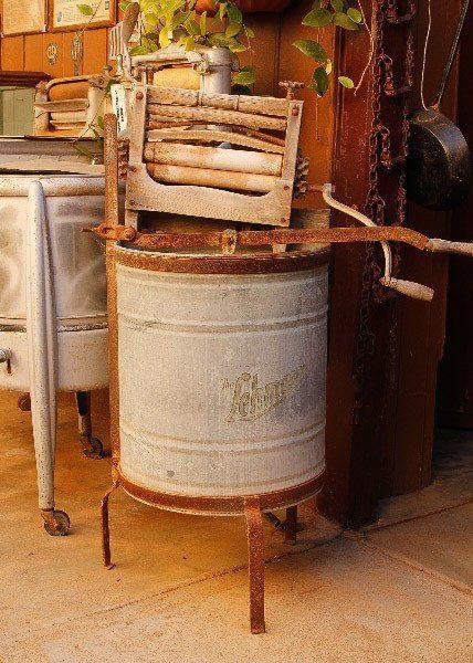 Old Washing Machine, Silverton, Outback Australia Road Trip