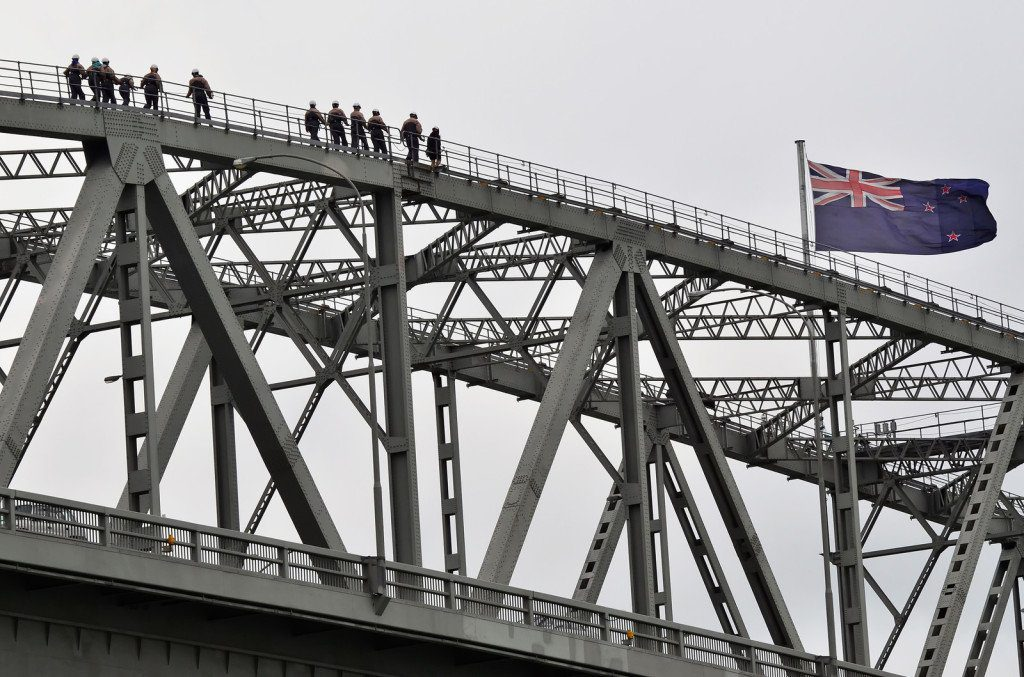 Auckland Harbour Bridge Climb in Auckland New Zealand
