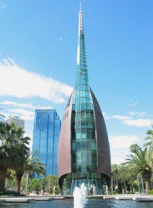 The Swan Bell Tower in Perth, Australia