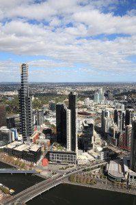 Eureka Tower in Melbourne, Third Tallest Building in Australia