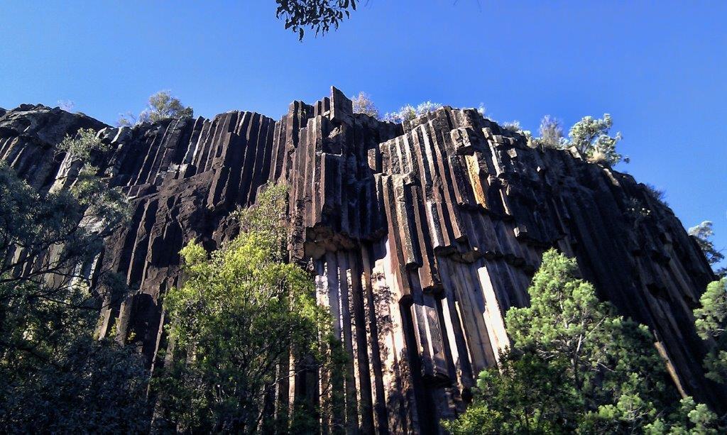 Sawn Rocks in Mount Kaputar National Park, near Narrabri NSW Australia