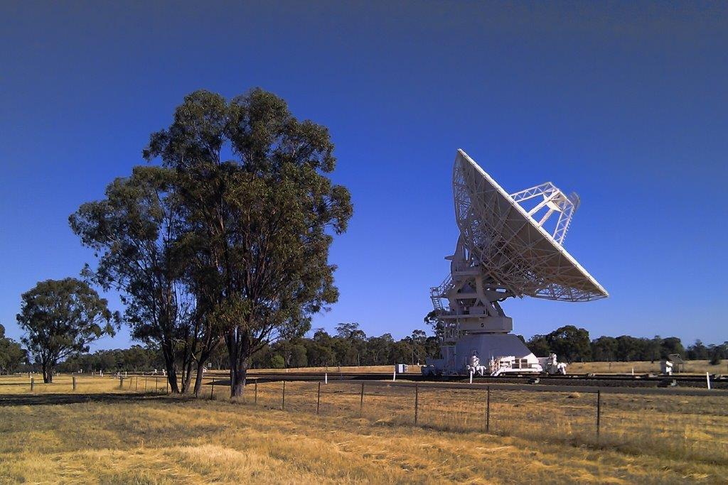 CSIRO Radio Telescopes near Narrabri, NSW Australia