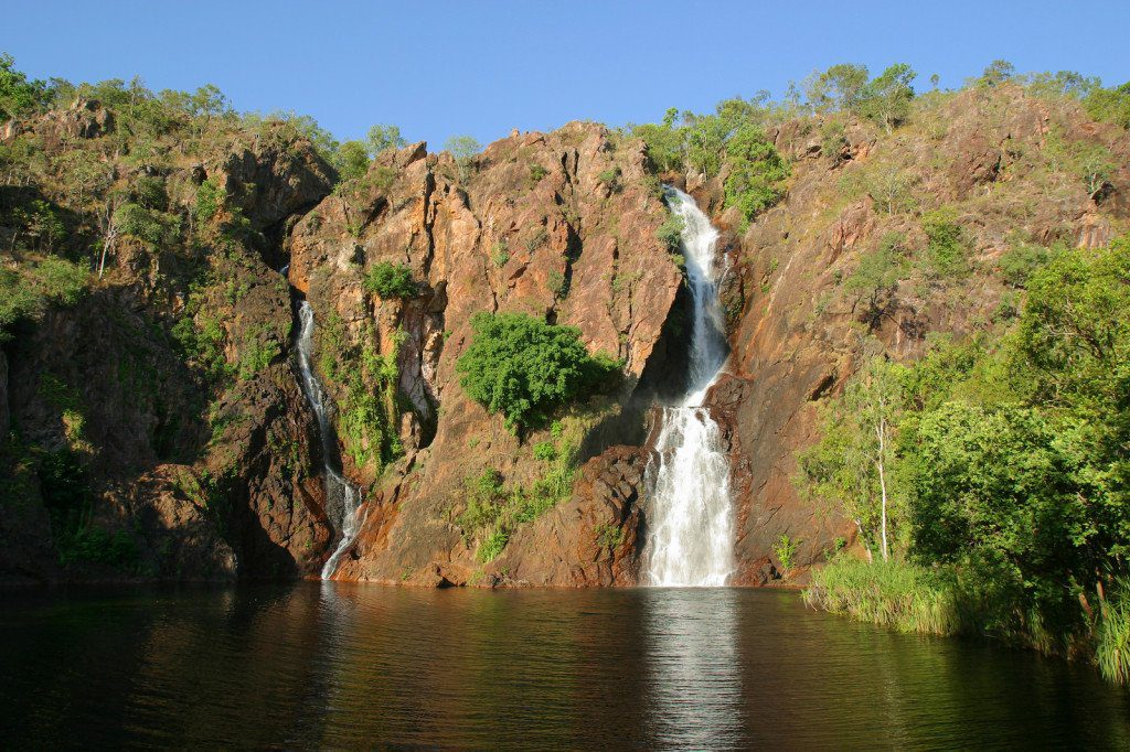 Wangi Falls in Litchfield National Park, Northern Territory Australia