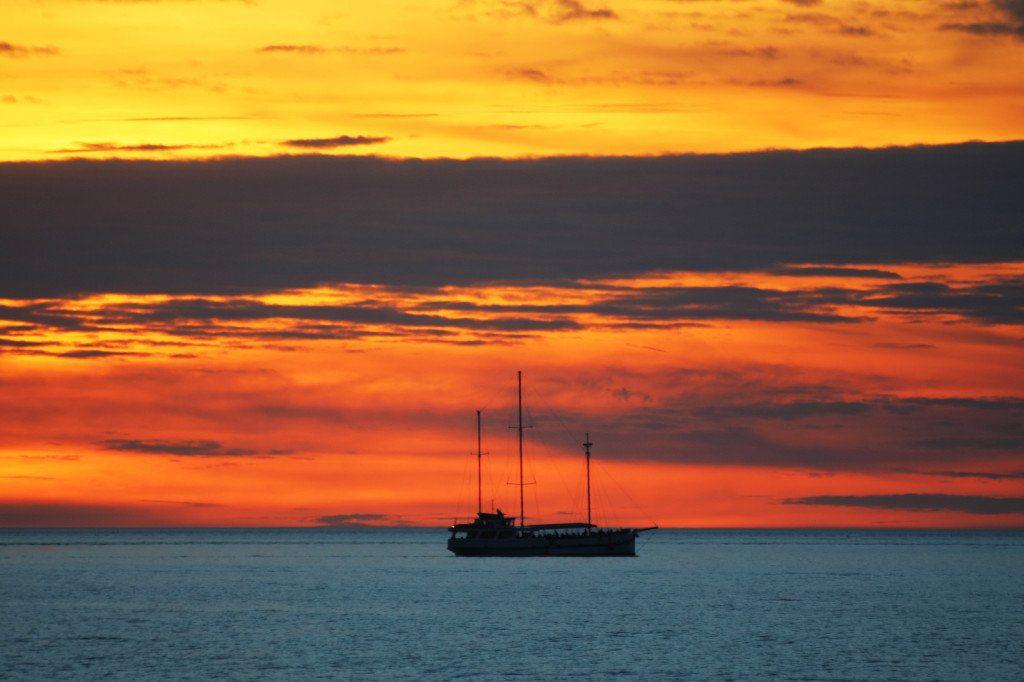 Sunset over Darwin Harbour, Northern Territory Australia