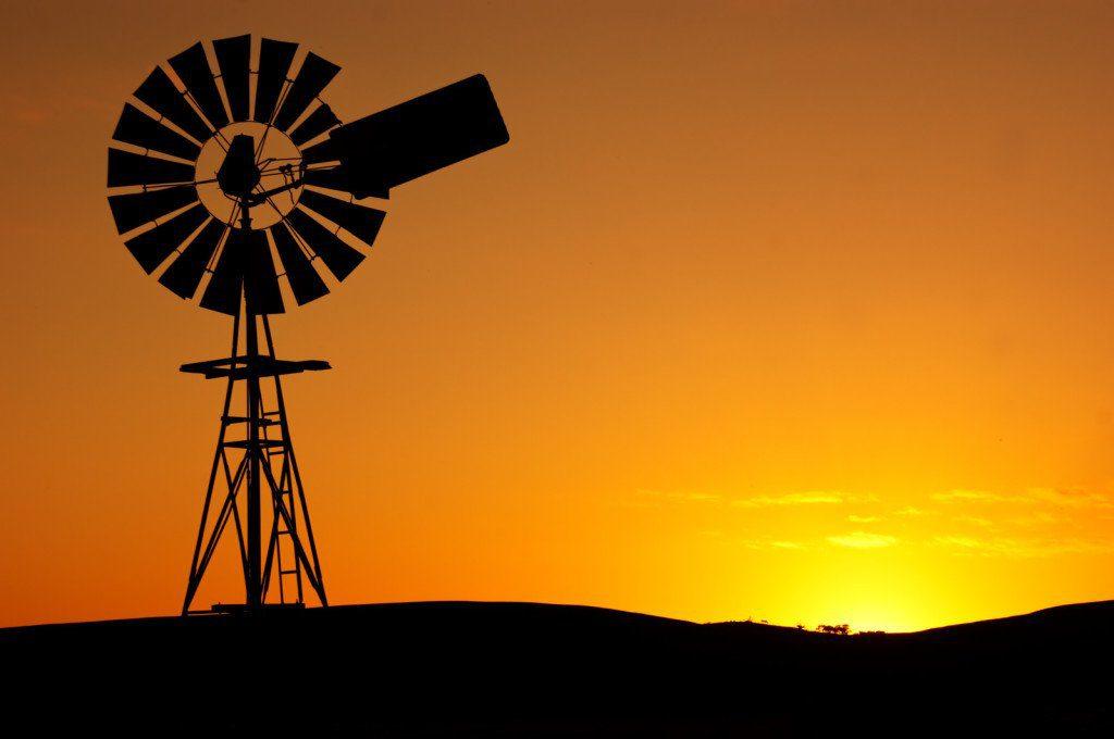 Outback Australia Wind Pump