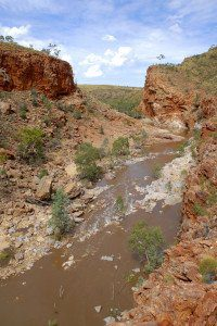 Ormiston Gorge, in the West MacDonnell Ranges near Alice Springs, Northern Territory Australia