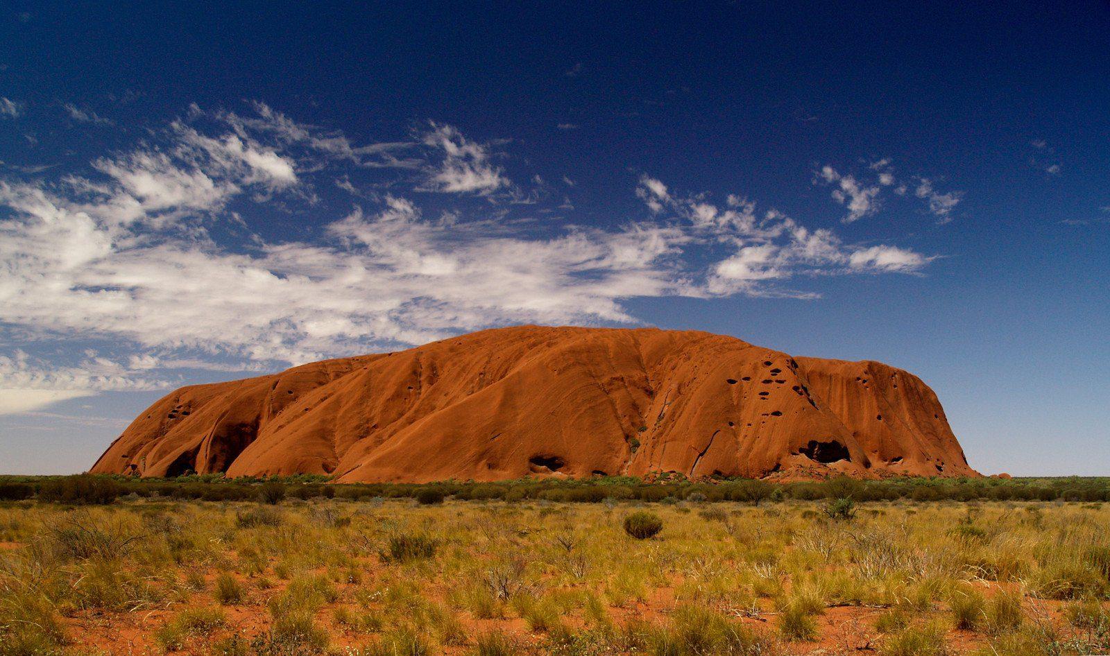 Uluru (Ayers Rock) in the Northern Territory, Australia