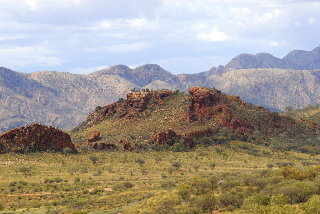 West MacDonnell Ranges near Alice Springs, Northern Territory Australia