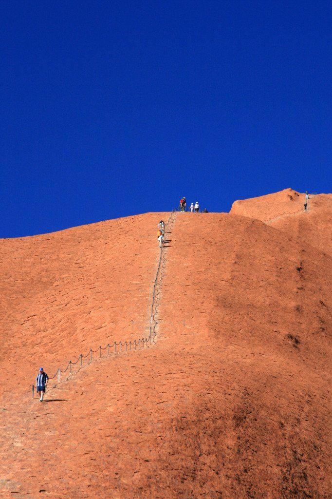 Uluru Climb, Northern Territory Australia