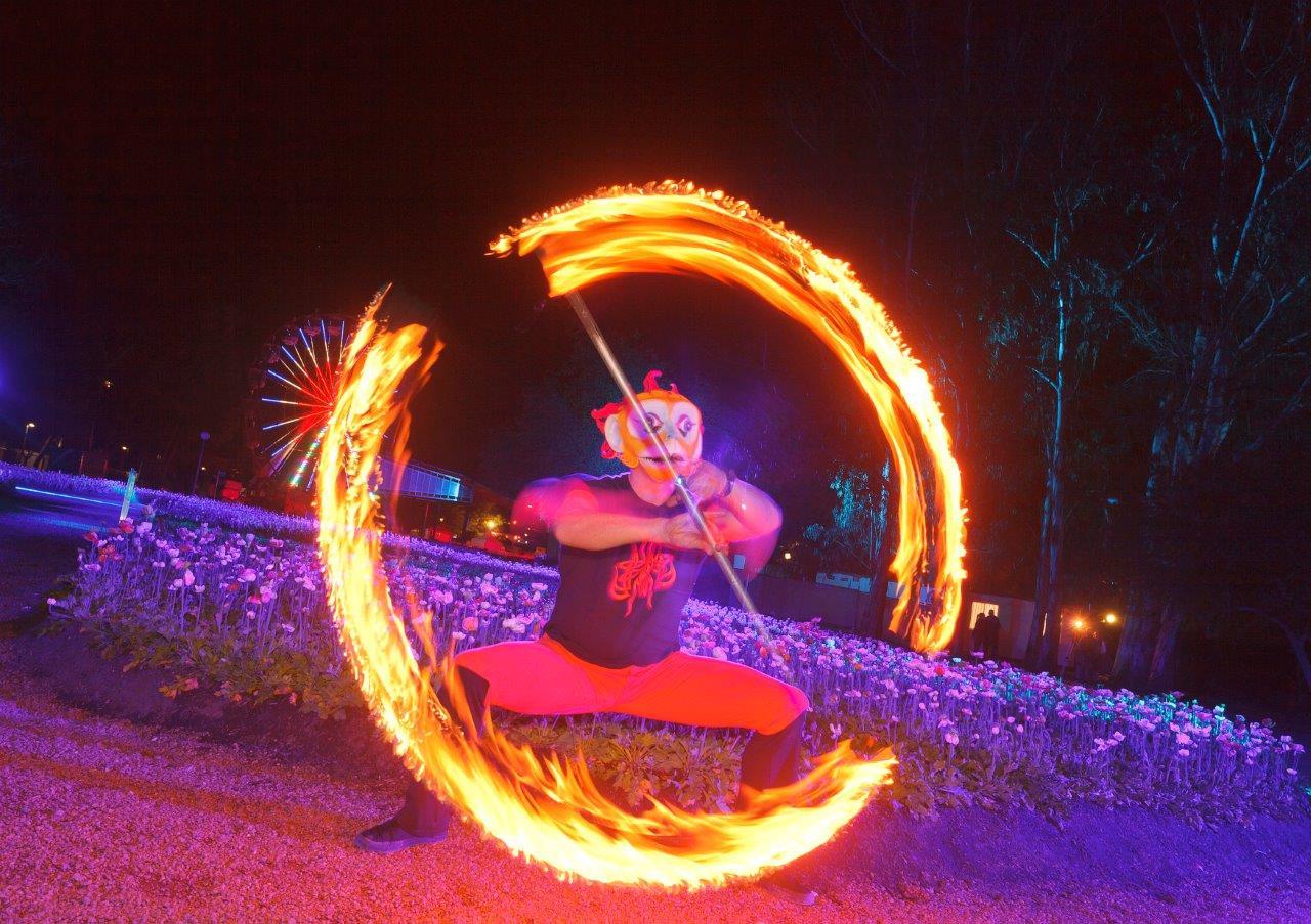 Floriade NightFest in Canberra, Australia
