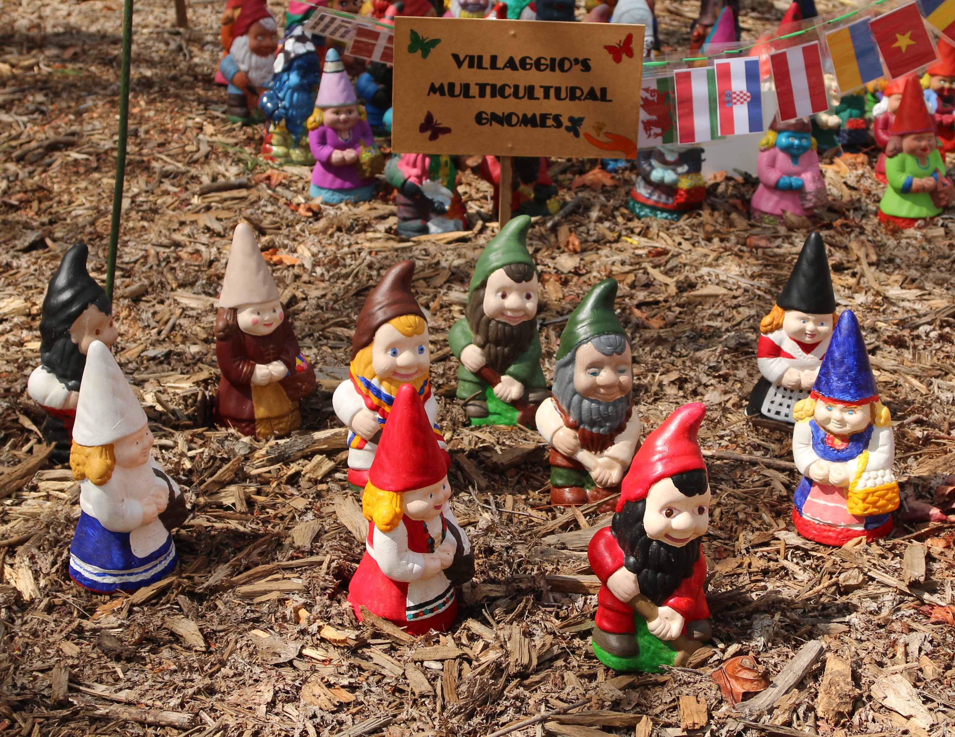 Gnome Knoll at Floriade, Canberra