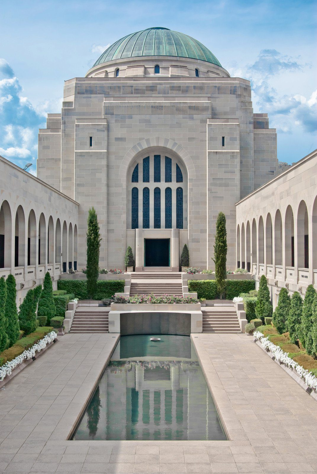 The Australian War Memorial in Canberra, Australia