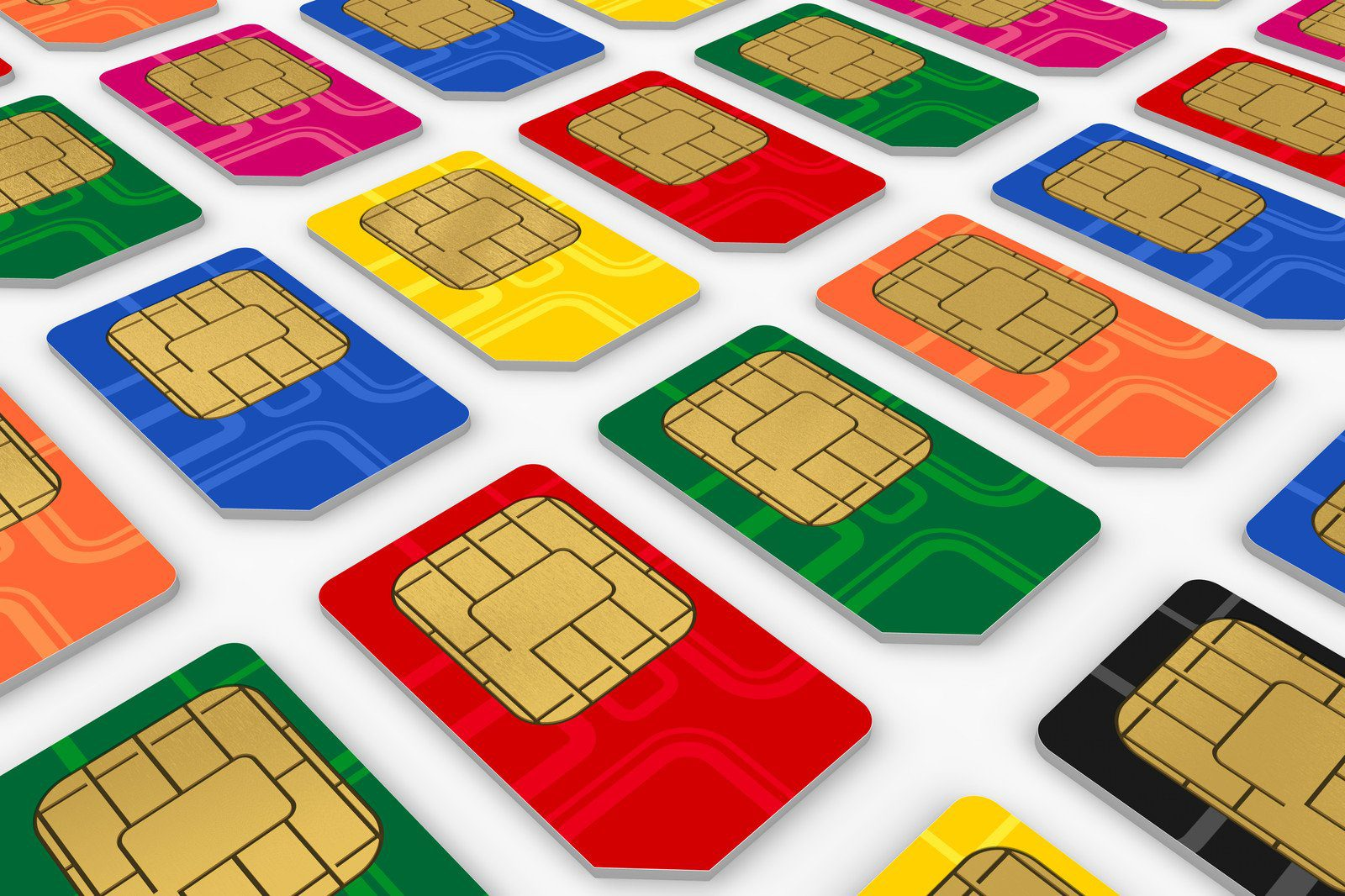 Mobile or Cell Phone SIM Cards
