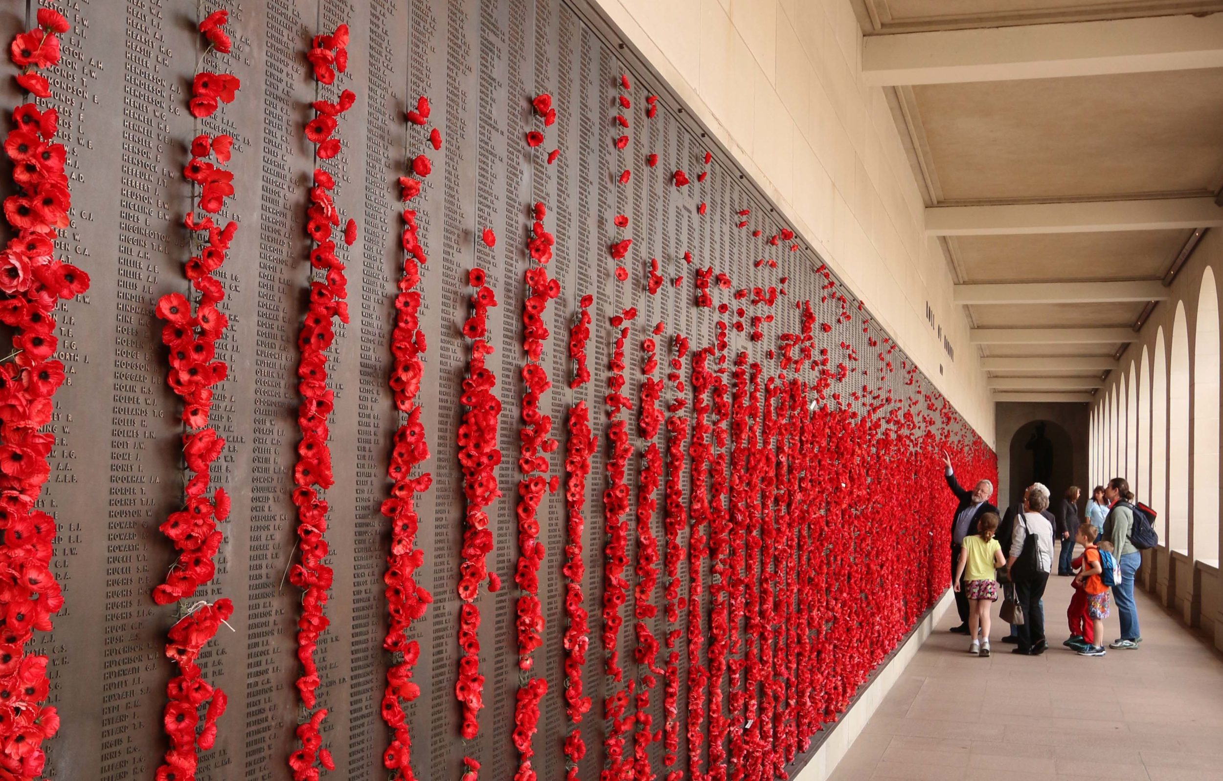 The Roll of Honour at the Australian War Memorial in Canberra