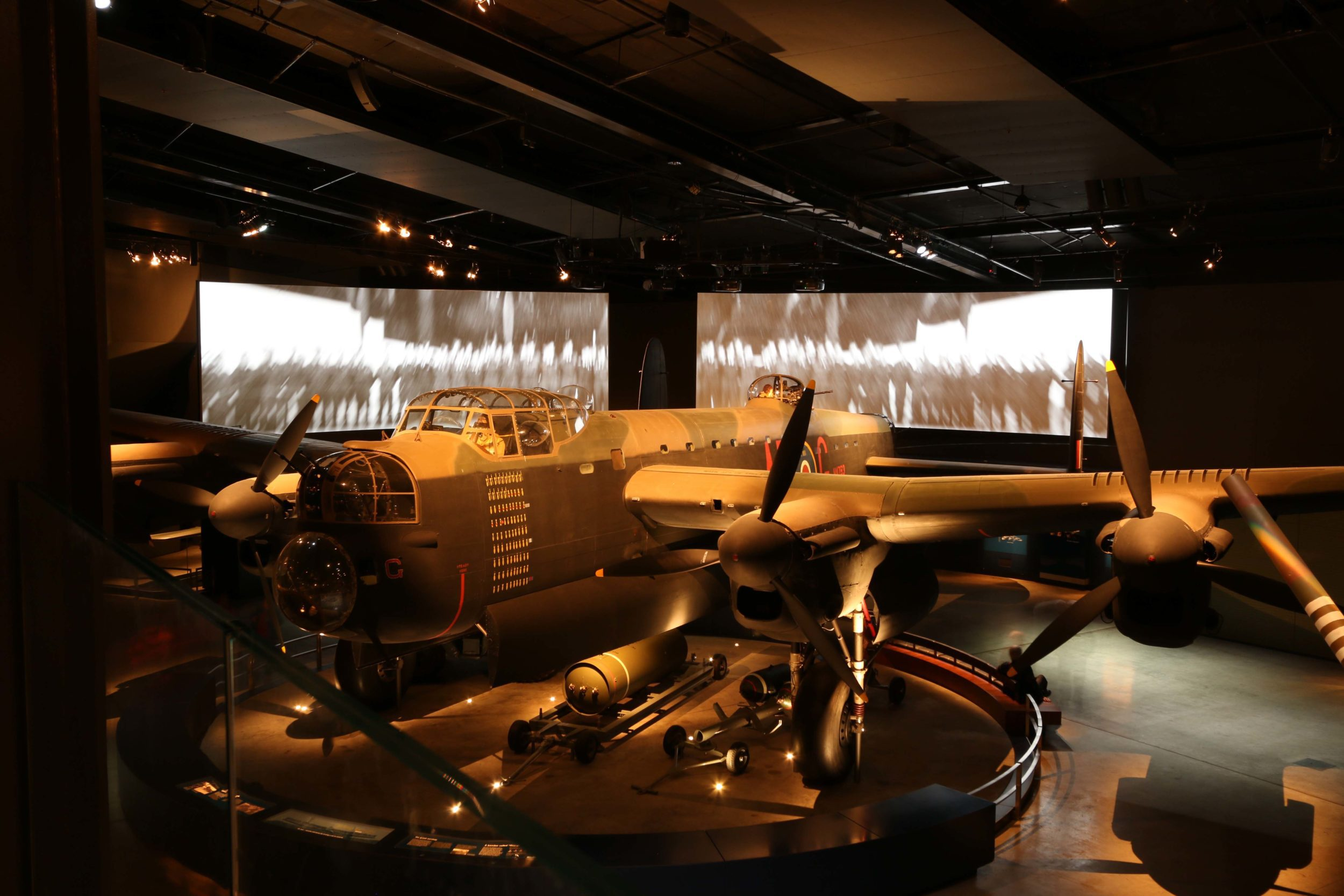 G for George Avro Lancaster Bomber Aircraft at the Australian War Memorial in Canberra