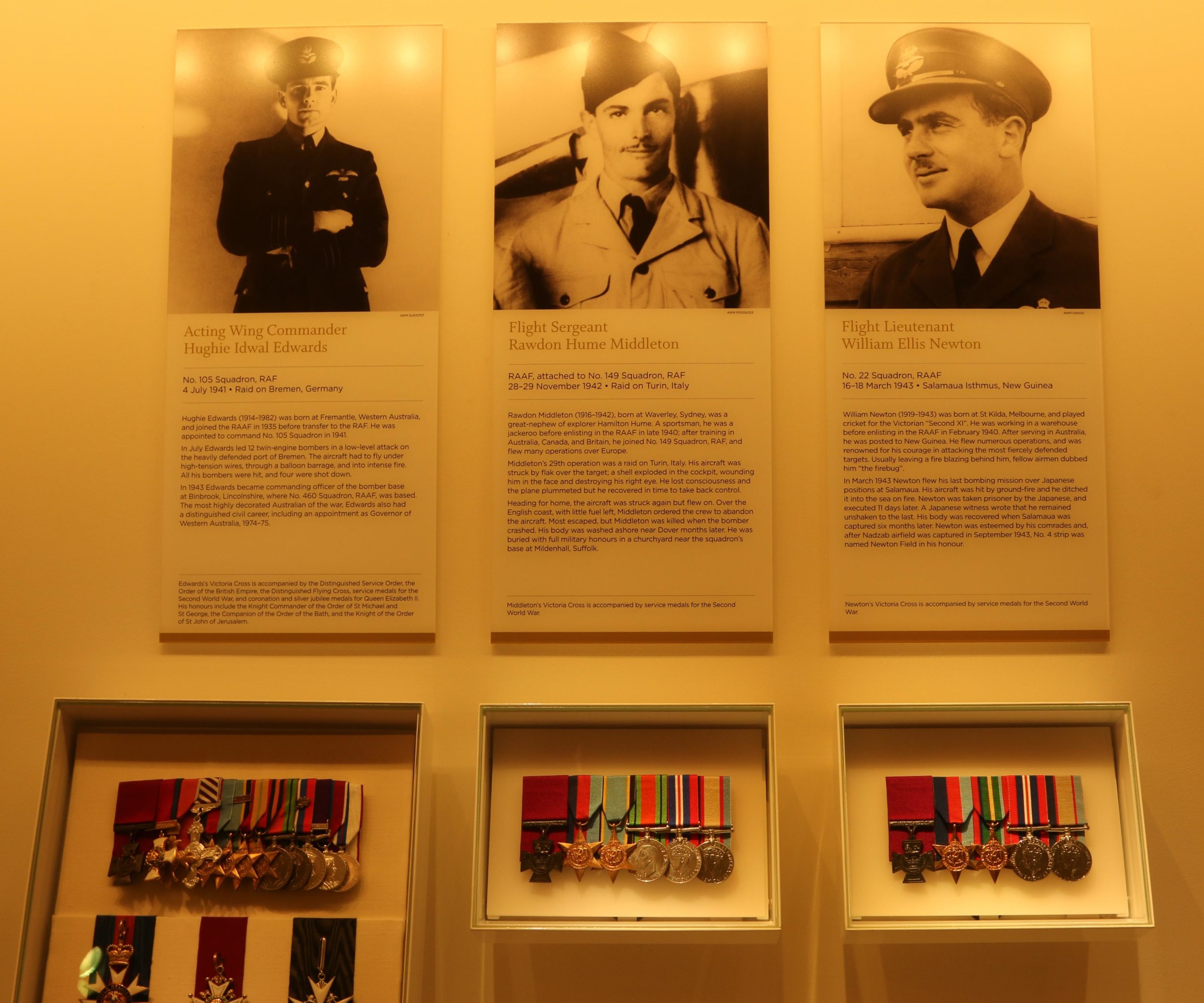 Hall of Valour at the Australian War Memorial in Canberra