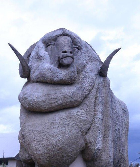 The Big Merino in Goulburn Australia