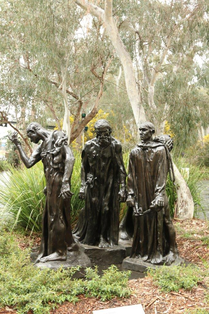 The Sculpture Garden at the National Gallery of Australia in Canberra