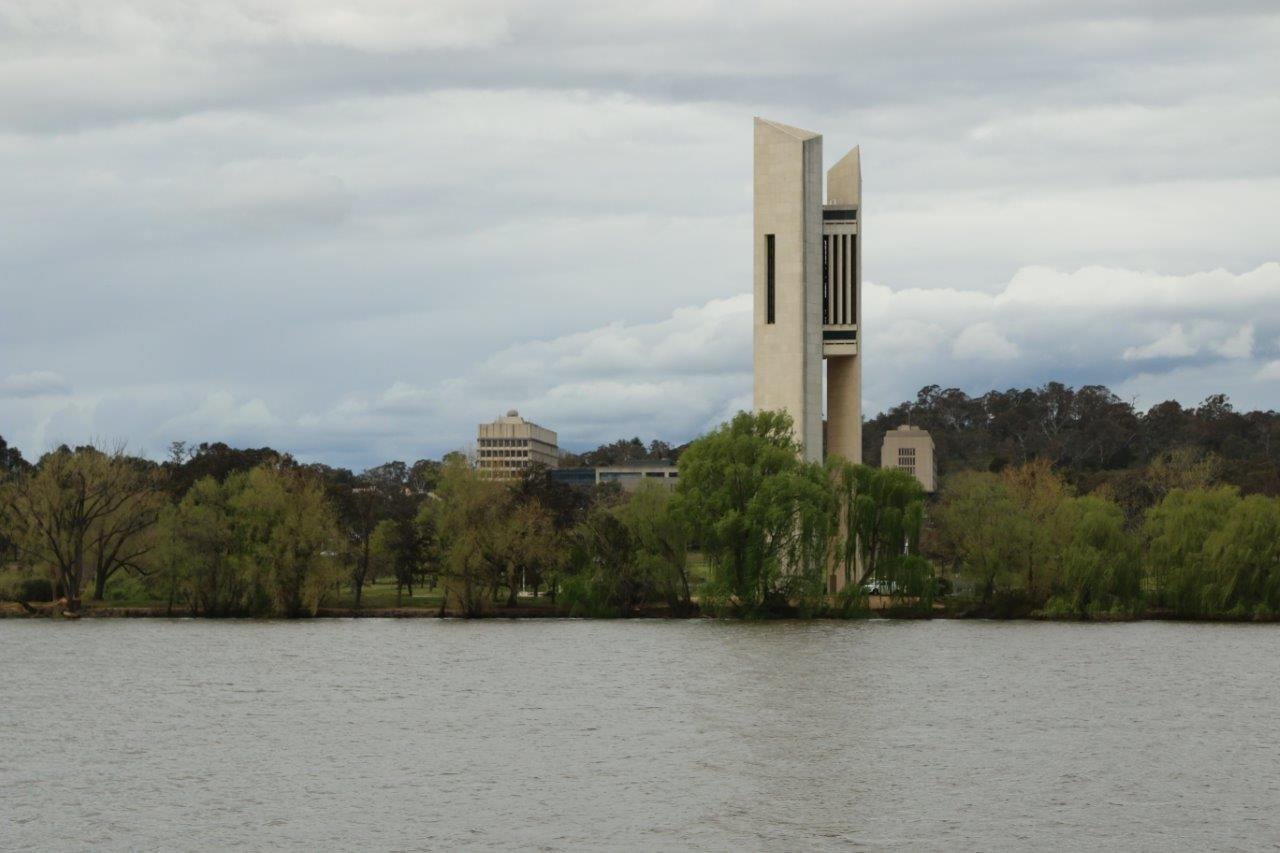 National Carillon Bell Tower in Canberra Australia