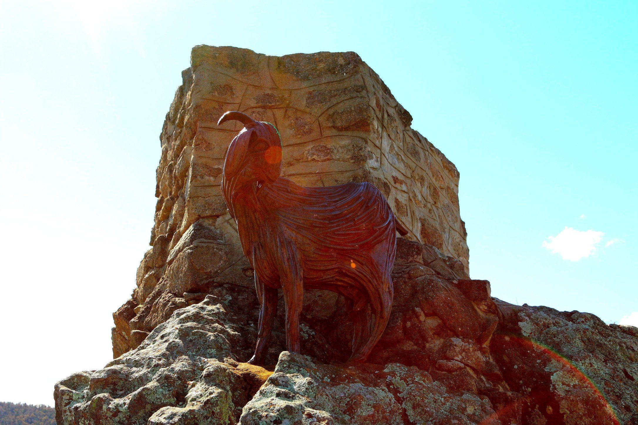 Nanny Goat Hill in Cooma, Australia