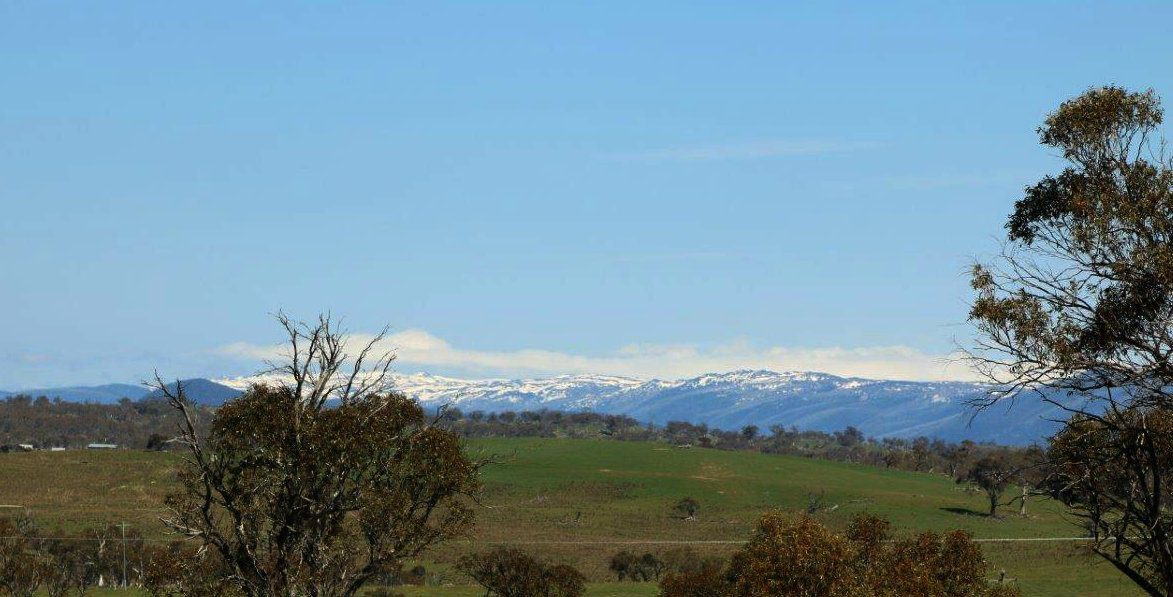 Our First View of the Snow Capped Snowy Mountains!