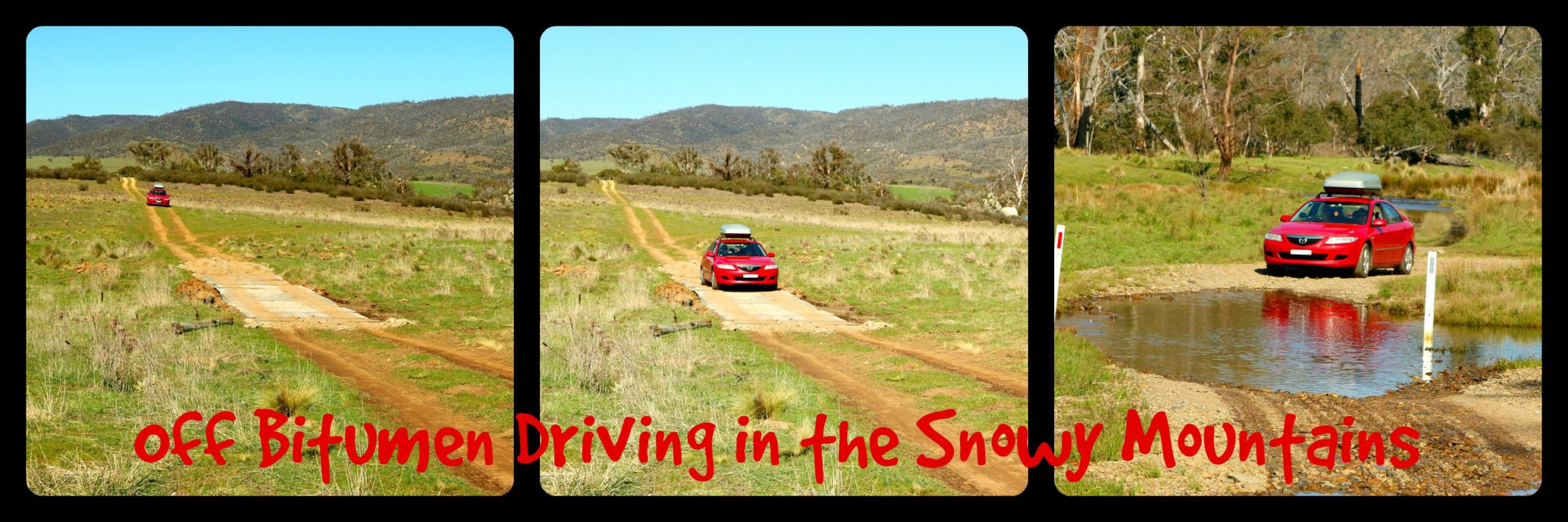 Off Bitumen Driving in the Snowy Mountains, Australia