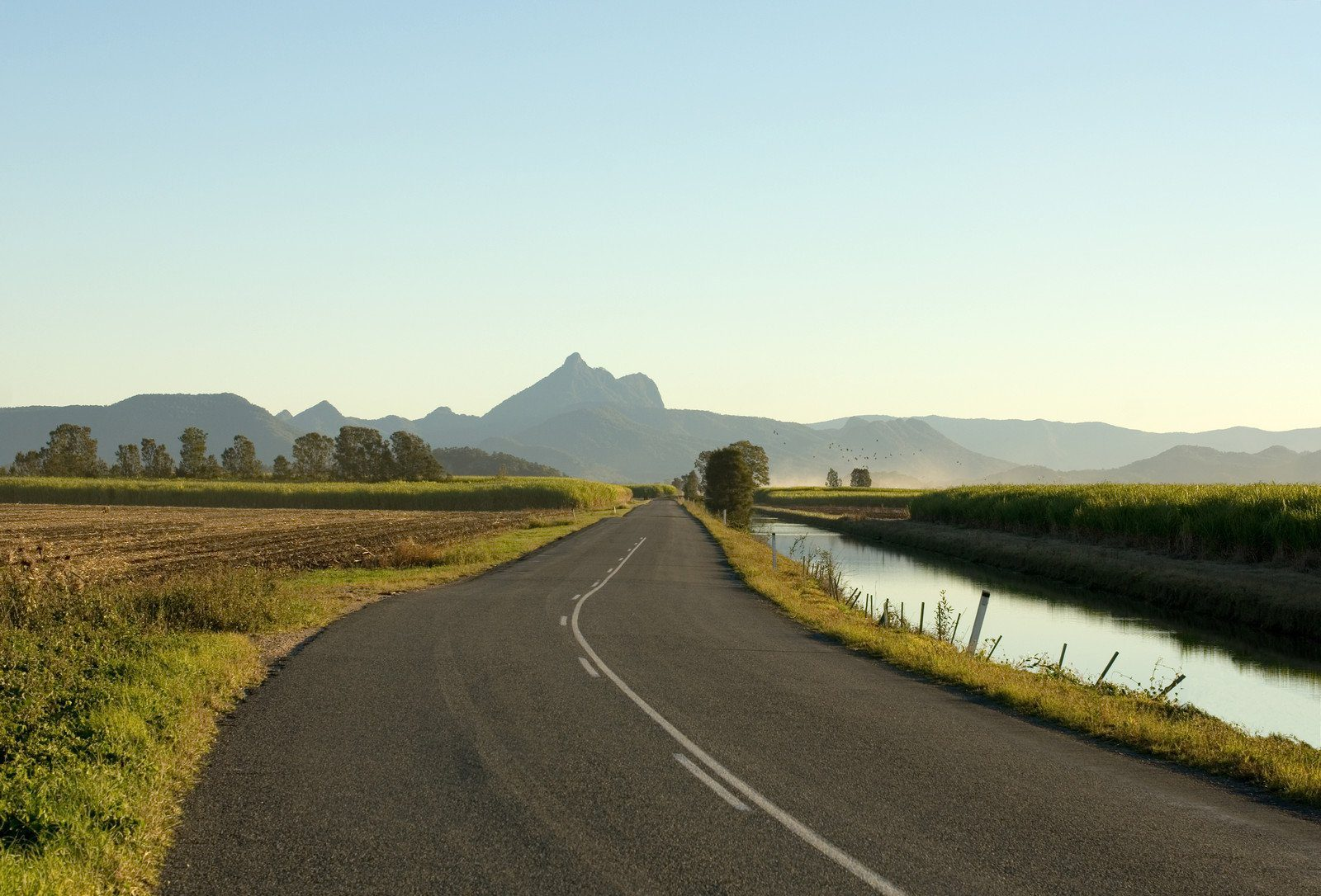 View of Mt Warning in northern New South Wales Australia