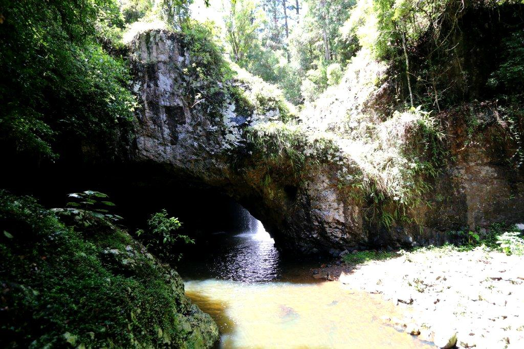 First View of Natural Bridge
