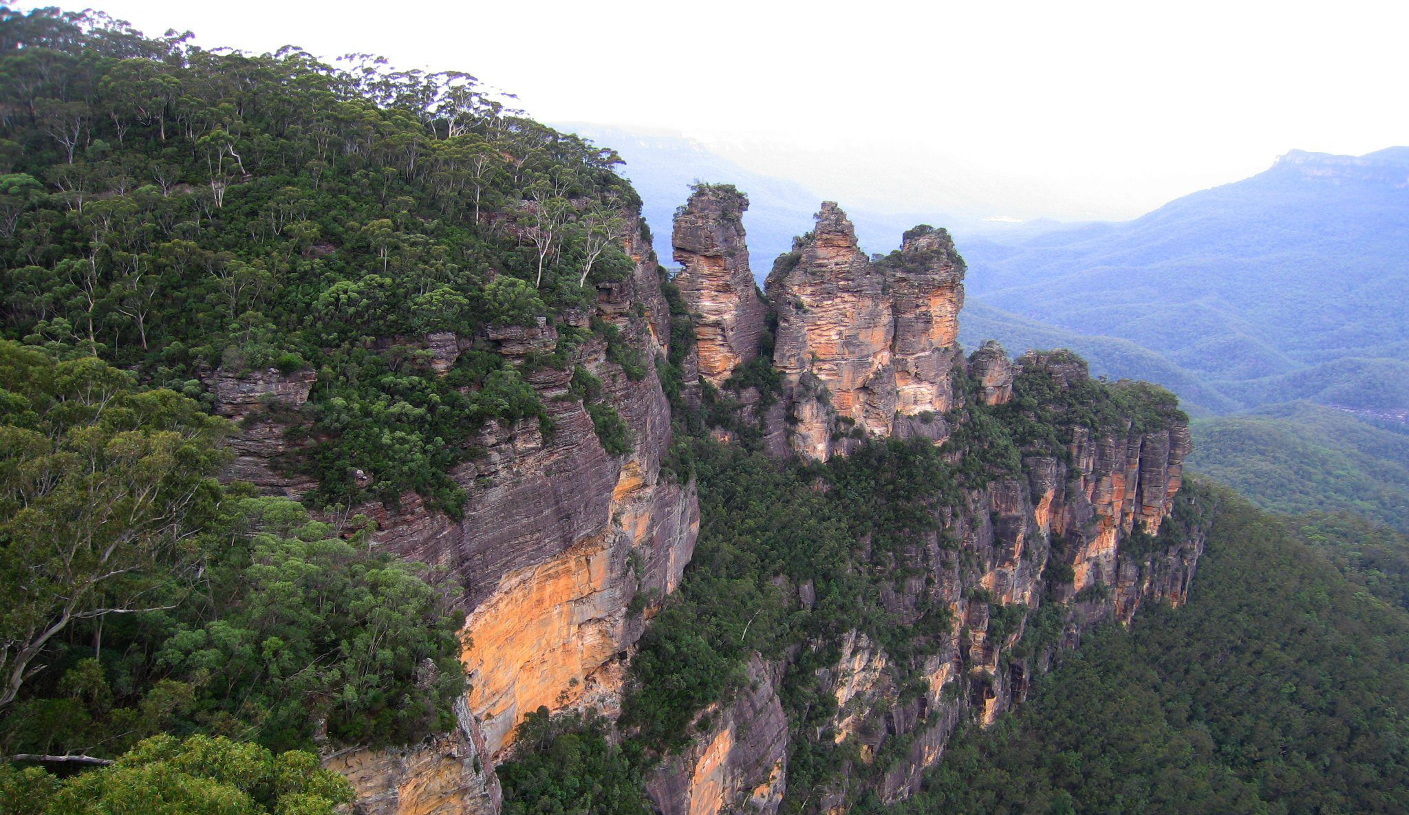 The Three Sisters in the Blue Mountains near Sydney
