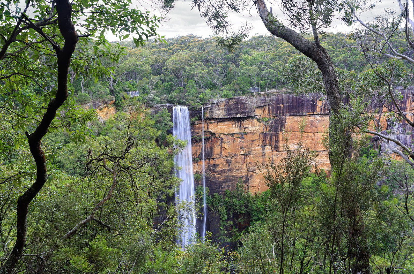 Fitzroy Falls in the Southern Highlands, Australia