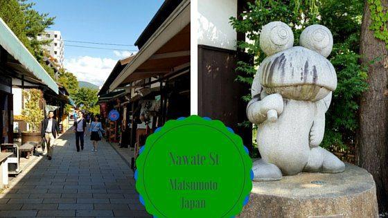 Nawate St, Matsumoto Japan