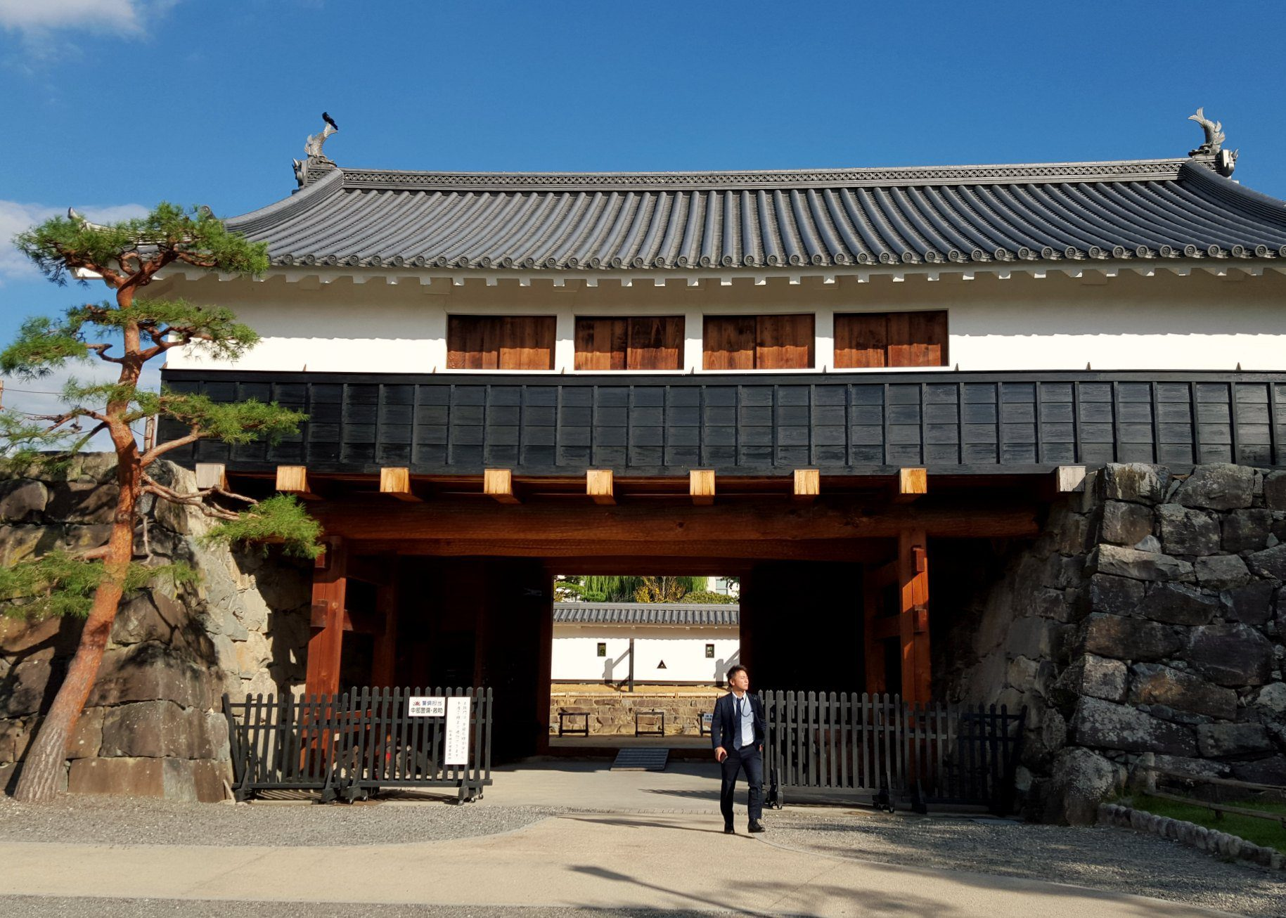 Main Entrance - Matsumoto Castle Japan