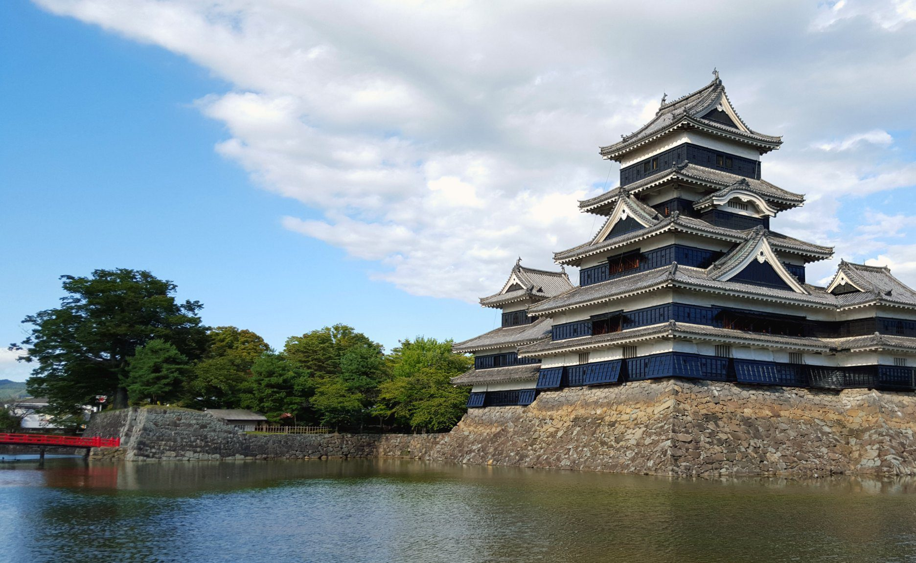 Views over Matsumoto Castle, Japan