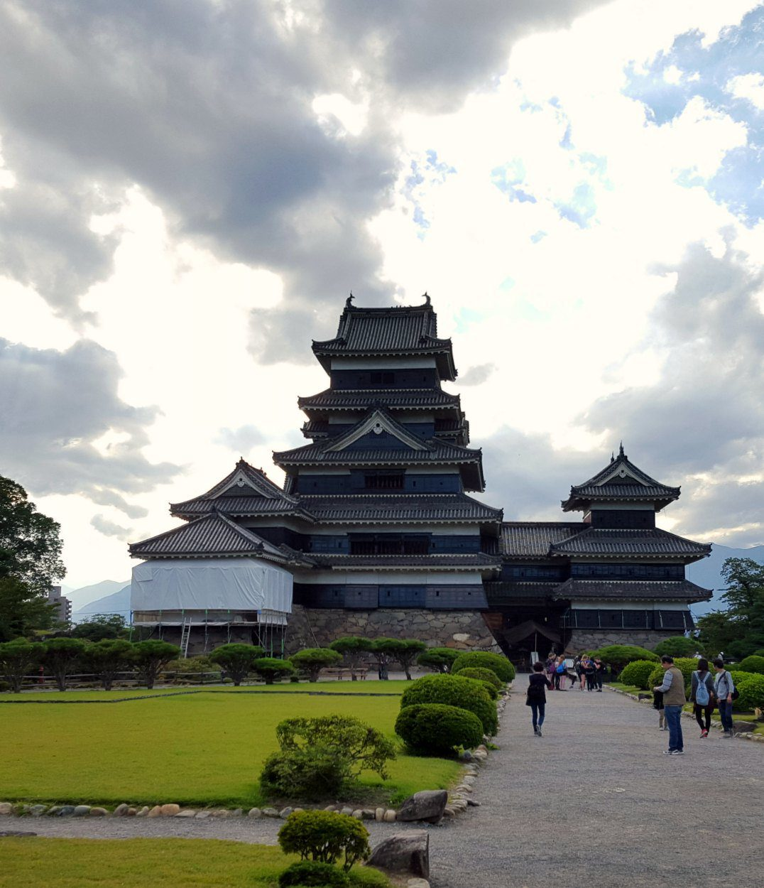 Another View of Matsumoto Castle, Japan