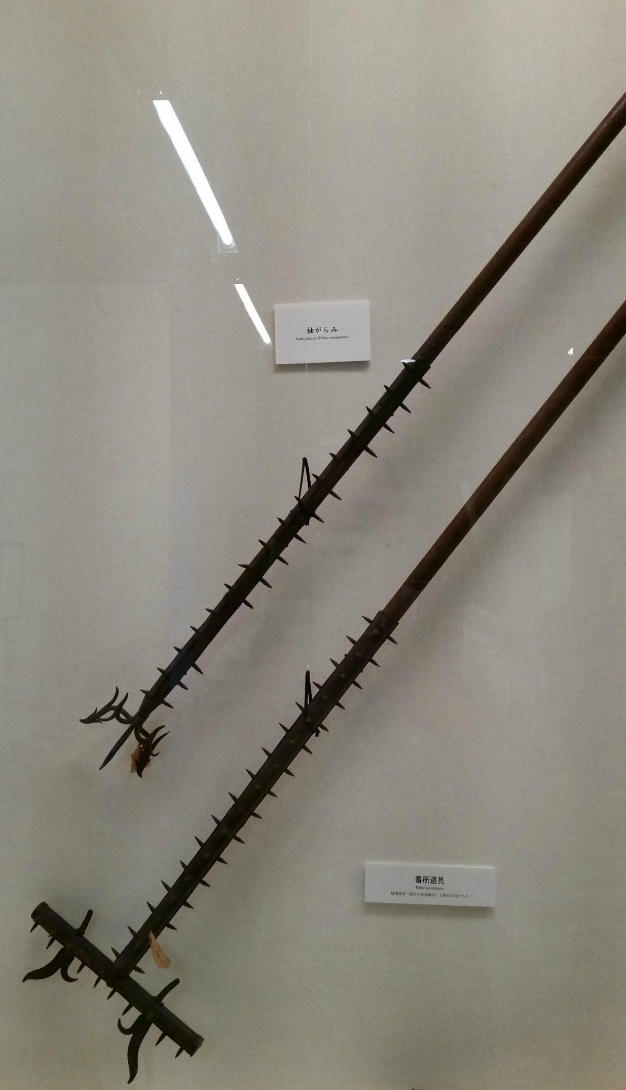 Displays inside Matsumoto City Museum, Japan