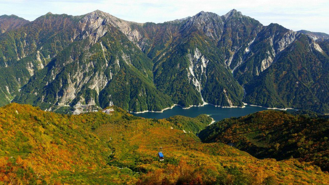Tateyama Kurobe Alpine Route in Japan