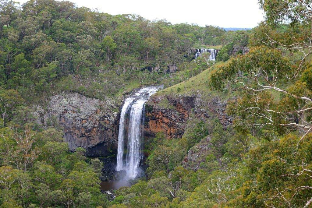 Ebor Falls on Waterfall Way