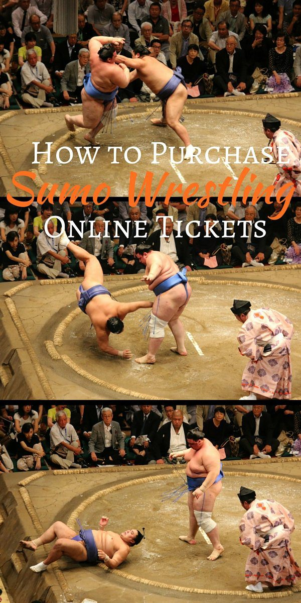 How to Purchase Sumo Wrestling Tickets - Pinterest