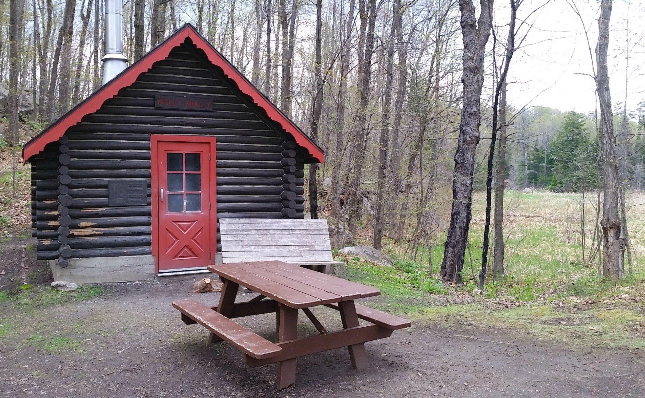 Shilly Shally Shelterin Gatineau Park, near Ottawa Canada