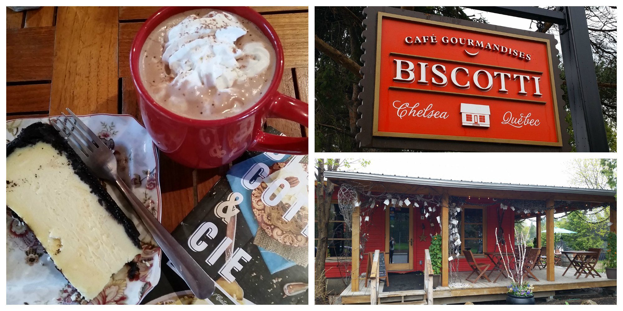 Biscotti Cafe Delights in Chelsea, Canada